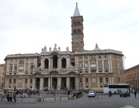 Roma Chiesa SantaMariaMaggiore facciata