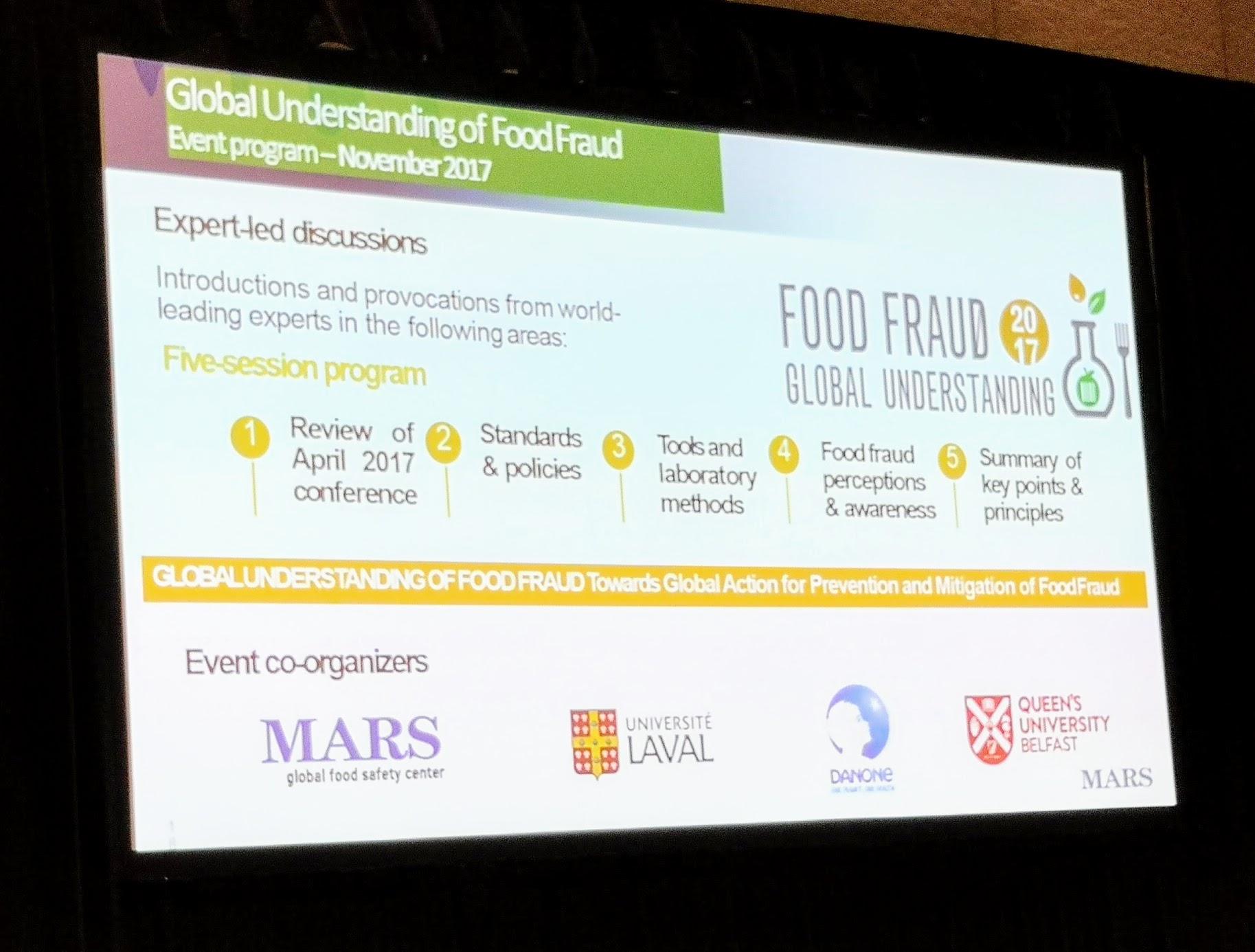 IAFP 2018 – Food Fraud Symposium Recap and next food fraud